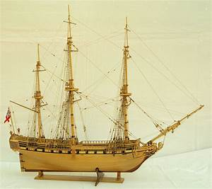 Ship model British frigate UNICORN