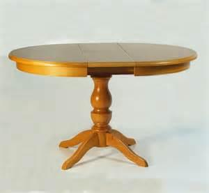 table ronde pied central et une allonge table pied central avec allonge fabricant table