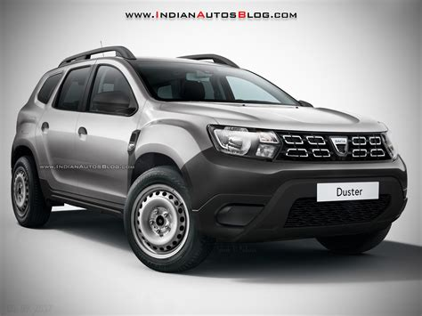 renault duster sub 10 000 2018 dacia duster base model rendered