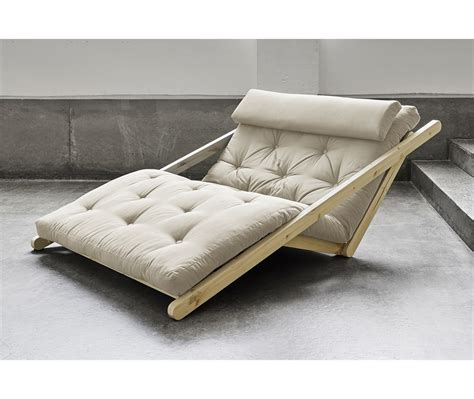 letto futon divano letto futon chaise longue figo naturale zen