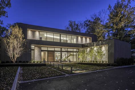 ferndale house modern home   jersey  simonian