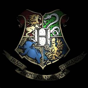Hogwarts Logo Wallpaper - WallpaperSafari