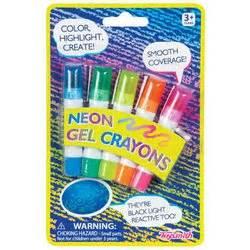 Neon Gel Crayons Toysmith Booksamillion