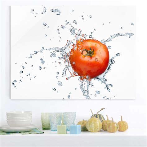 Bilder Für Küche by Glasbild K 252 Che Tomatenbild