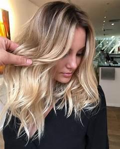 Ombre Hair Blond Polaire : balayage californien blond polaire ~ Nature-et-papiers.com Idées de Décoration
