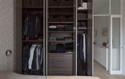 Closet Apartment Solutions Ingenious Organized Closets Hidden