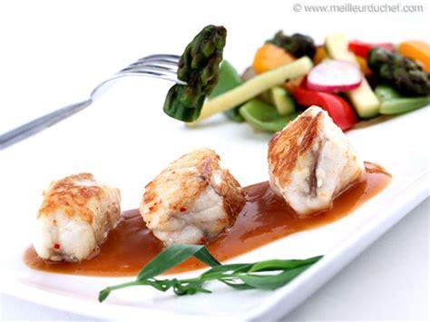 recette de cuisine avec du poisson poissons nos recettes sauce de poisson meilleurduchef com