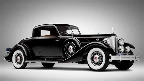 vintage classic black car automotive hd wallpaper