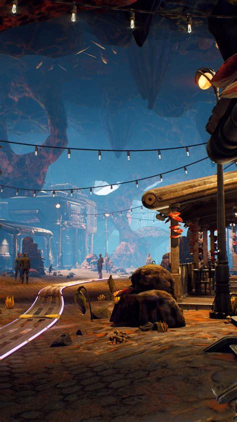 wallpaper  outer worlds   screenshot  games