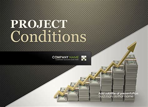 finance project microsoft powerpoint template id