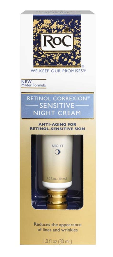 Amazon.com: RoC Retinol Correxion Sensitive Night Cream, 1