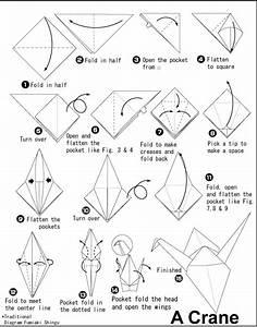 Origami Crane - How To Fold