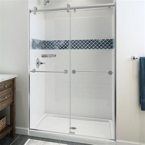 shower surrounds delta classic 400 36 in x 36 in x 74 in 3 direct