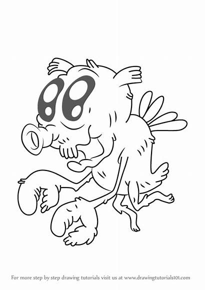 Grandpa Uncle Draw Drawing Step Cartoon