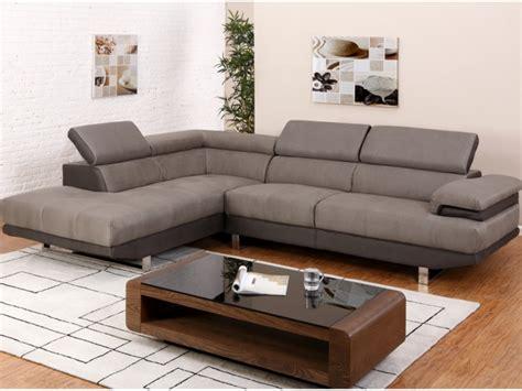 canapé 3 places relax canapé d 39 angle en tissu 2 coloris bicolores meloul