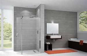 Paroi Salle De Bain : la paroi de douche le volume dans la salle de bain et la ~ Premium-room.com Idées de Décoration