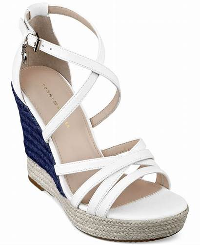 Wedge Sandals Platform Tommy Hilfiger Shoes Womens