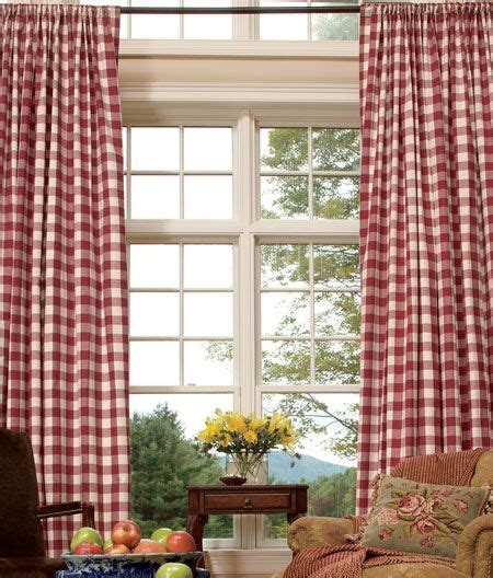 17 best ideas about buffalo check curtains on