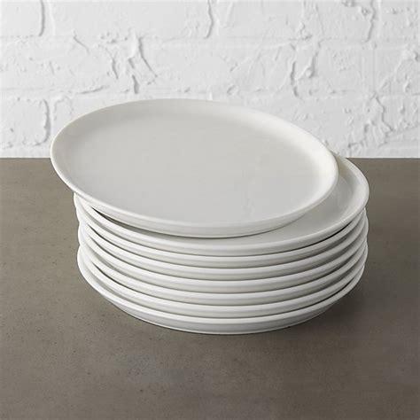 contact white salad plates set   reviews cb