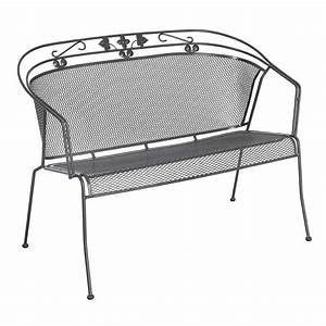 Royal garden elegance 2 sitzer bank stapelbar metall for Katzennetz balkon mit gartenmöbel royal garden elegance