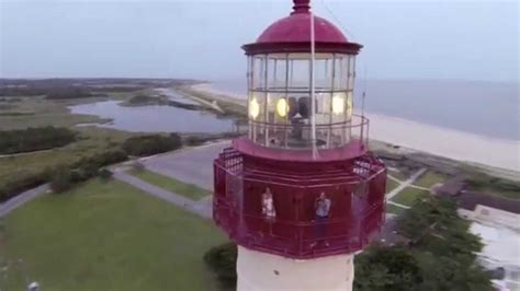 cape  lighthouse flyover  drone youtube