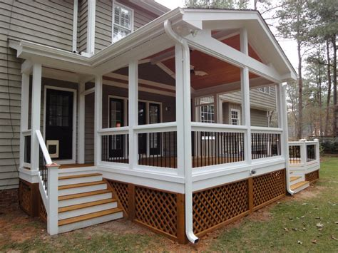 side porch designs screen in porches decks screen porch with side entrance