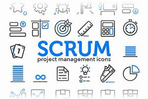 Scrum - Project Management Icons ~ Icons ~ Creative Market