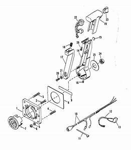 Marine Parts Plus Accessories Serial Remote Controls And Components 4200091a 1989