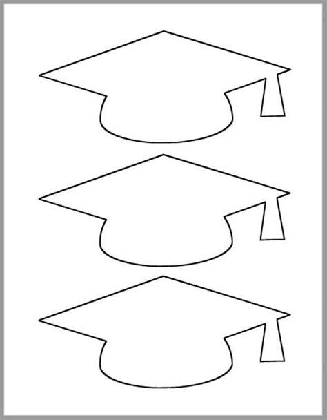 graduation cap template printable template grad party etsy