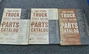 1983 Ford Cl900 Clt900 B600 F600 Ft600 B700 F700 Truck