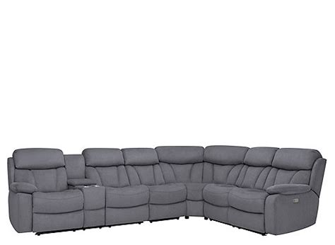 reclining sectional sofa with massage and heat connell 4 pc power reclining sectional sofa w heat and