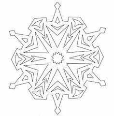 Schneeflocken Basteln Vorlagen : schneeflocken aus papier basteln vorlage geburtstag schneeflocke vorlage schnee und ~ Frokenaadalensverden.com Haus und Dekorationen