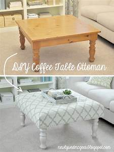 Living Room DIY – Turn a Coffee Table into an Upholstered