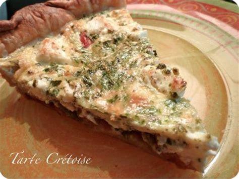 cuisine cretoise recettes recette tarte crétoise notée 4 2 5