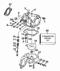 34 Mercury 25 Hp Carburetor Diagram