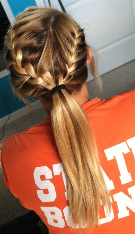 everyday hairstyles  french braid popular haircuts