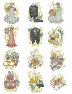 Thread Size Chart Wedding Party Machine Embroidery Designs By Sew Swell