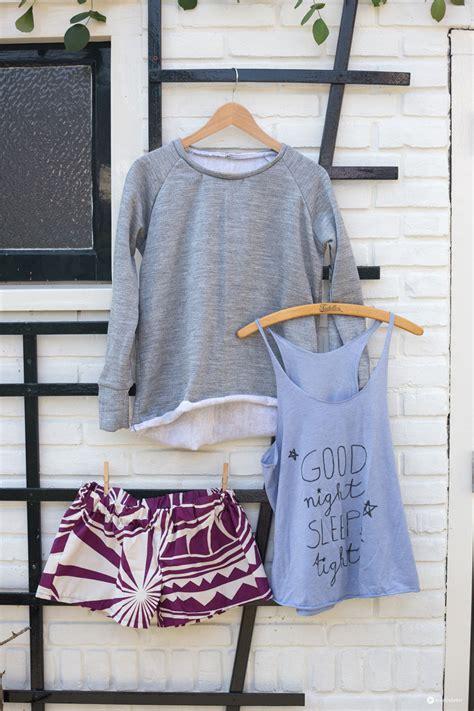 diy loungewear set schlafanzug und  selbernaehen