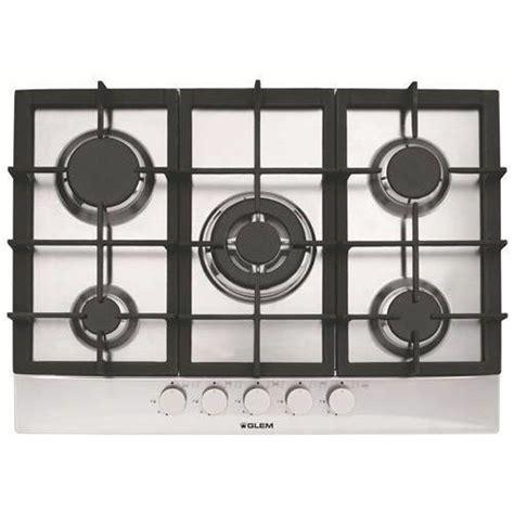 but plaque de cuisson plaque de cuisson gaz 70cm gt755ix achat vente plaque gaz cdiscount