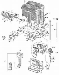 Ccg 89200 Truma S 5002 Heater Parts List Caravanparts Co Uk