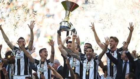 Juventus win record sixth consecutive Serie A title   The ...