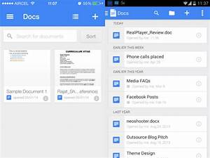 Google docs app for ios and android for Google docs app how to