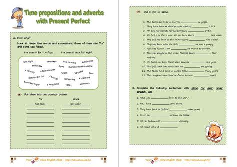 present perfect tense worksheet  esl printable
