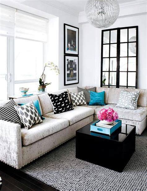 White Sectional Living Room Ideas by Living Room Small Living Room Decorating Ideas With