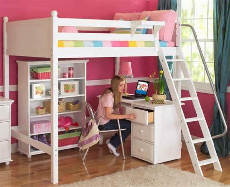 chambre avec lit mezzanine le lit mezzanine avec bureau est l 39 ameublement créatif