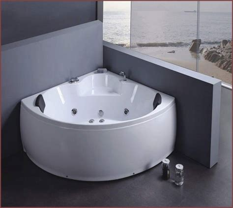 Small Corner Bathtub With Shower Home Design Ideas