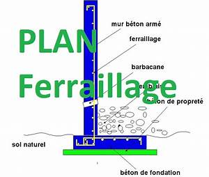 exemple plan de ferraillage d39un mur de soutenement dwg With maison en beton banche 13 exemple de calcul de ferraillage dun voile feuille