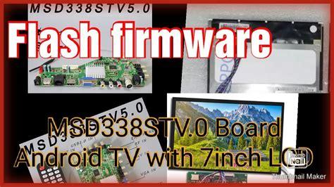 msdstv flash firmware   lcd nicg ld