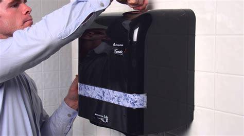 cormatic automatic towel dispenser loading instructions