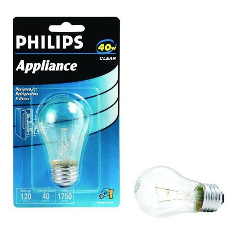 40 watt incandescent a15 clear appliance light bulb 416768